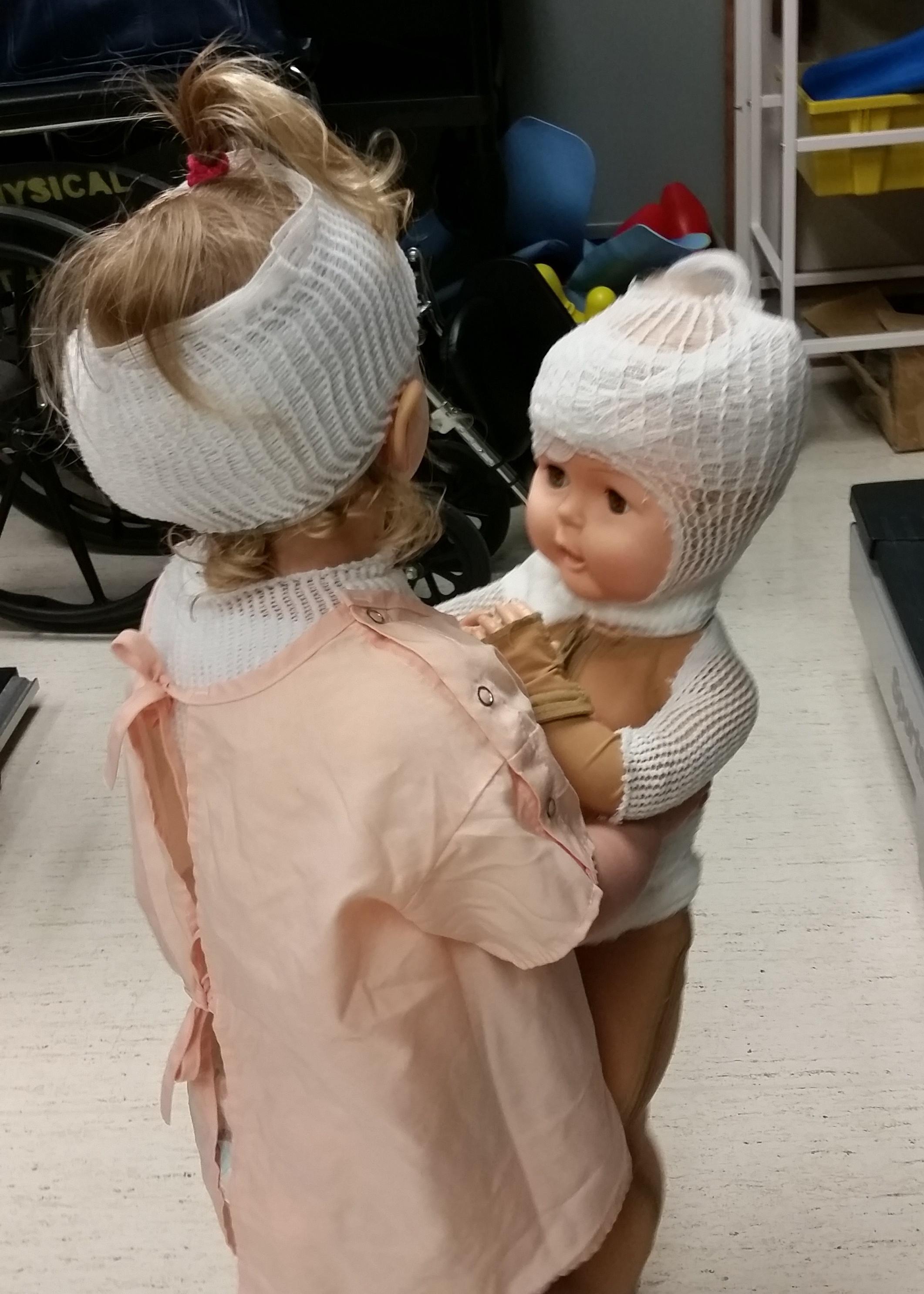 burn baby doll