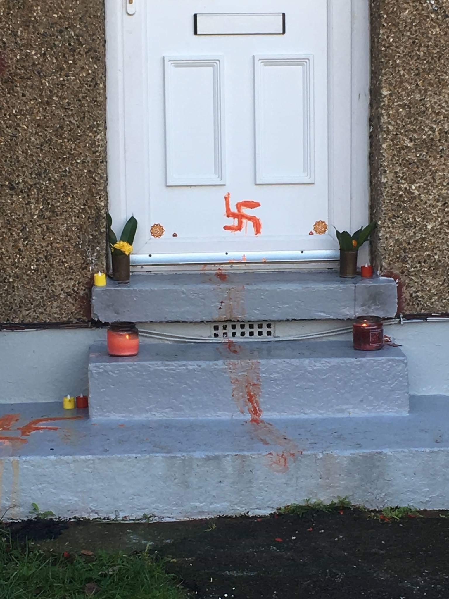 diwali swastika